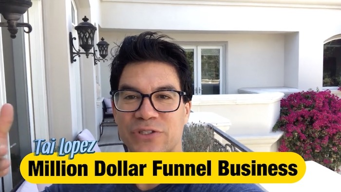 Tai Lopez WFBA Website funnel building agency