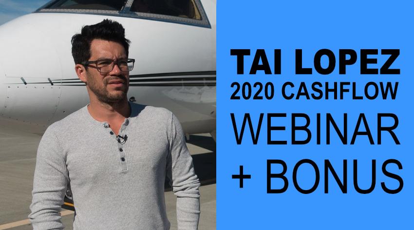 TAI LOPEZ 16 course 2020 bundle and webinar replay