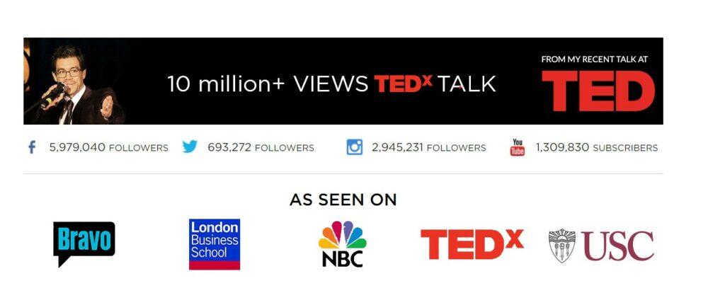 Tai Lopez Ted X Social Media Followers